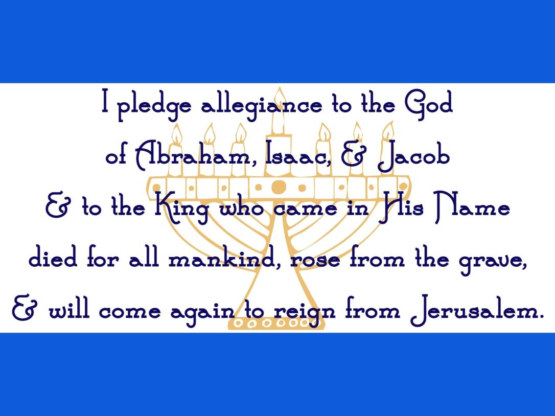 The Dusty Scholar I pledge allegiance to the God.JPG